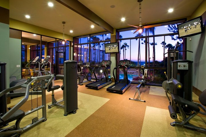 Fitness center at The Village