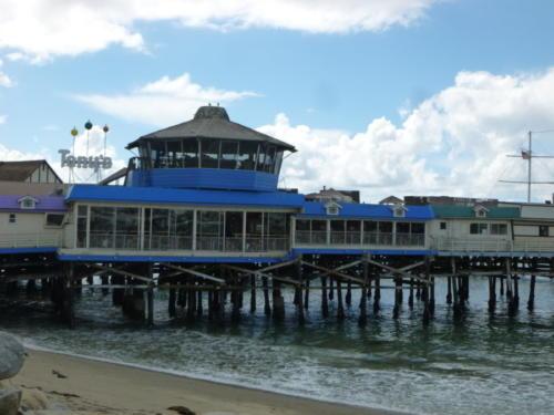 Old Tony at the pier