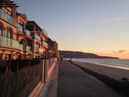 Redondo Beach Esplanade Sunset